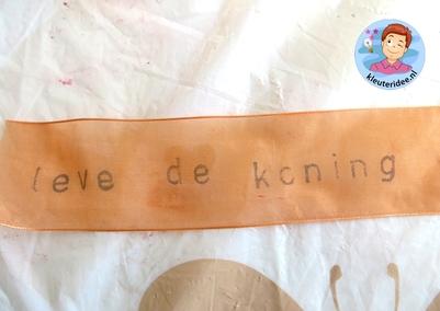 Sjerp voor koningsdag 5 , kleuteridee.nl.