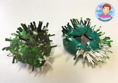 kastanjes knutselen met kleuters, preschool chestnut craft, kleuteridee .jpg