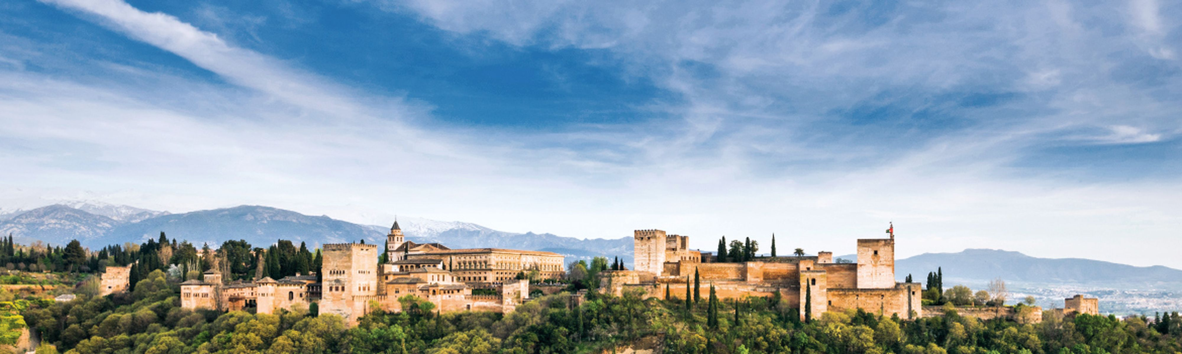 Alhambra of Granada, Andalusia, Spain
