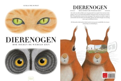 boek over dierenogen, kleuteridee, met download van werkje