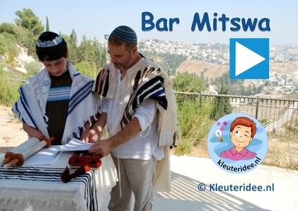 Bar Mitswa presentatie, kleuteridee