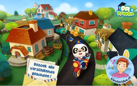App thema post & pakket dr Panda postbode, kleuteridee