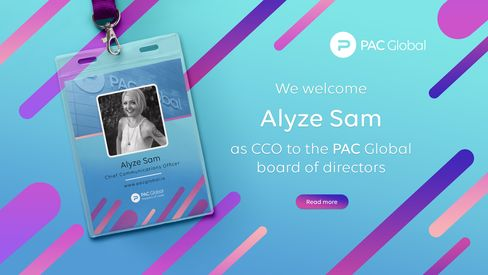 PAC GLOBAL ANNOUNCES NEW ADVISOR ALYZE SAM