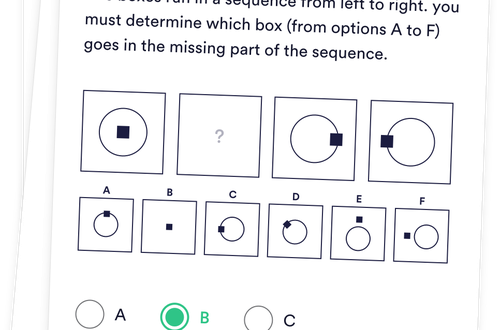 Diagrammatic Reasoning Test - 30 Tests, 300 Questions & Solutions