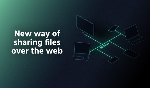 New way of sharing files over the web thumbnail
