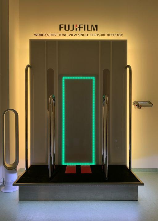 Röntgendiagnostik im ZEM-Germany mit Fuji-Detektor