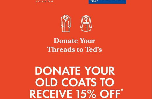 Donate Your Threads For Ted's