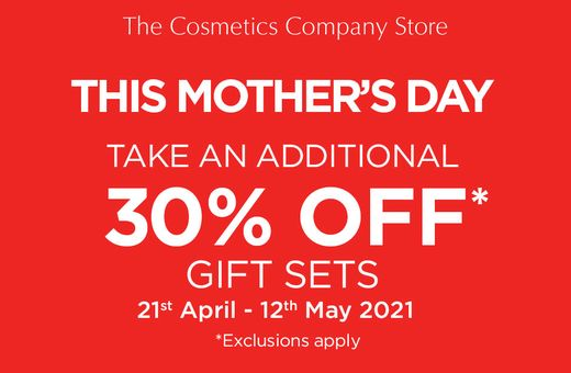The Cosmetics Company Store Mother's Day Sale