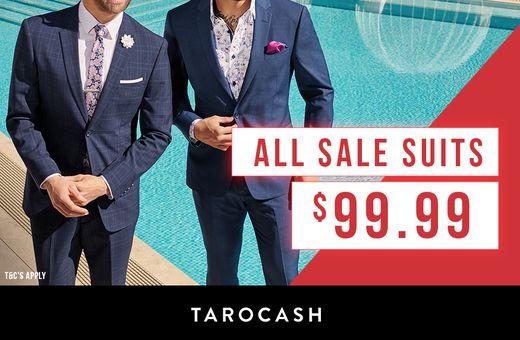 Tarocash All Sale Suits $99.99