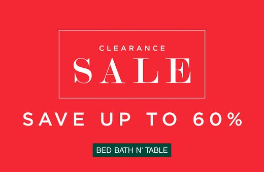 Bed Bath N' Table's Summer Clearance Sale