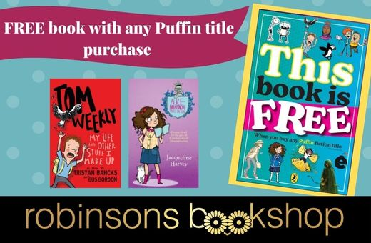 Free Superproof with Purchase at Robinsons Bookshop