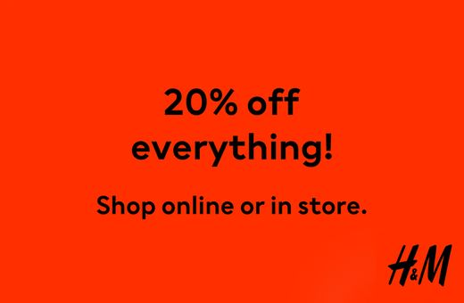 H&M's Big Shopping Week Sale