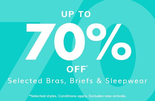 Bendon's up to 70% Sale