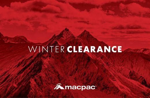 Macpac's Winter Clearance