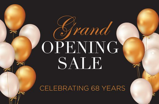 Salera's Grand Opening Sale