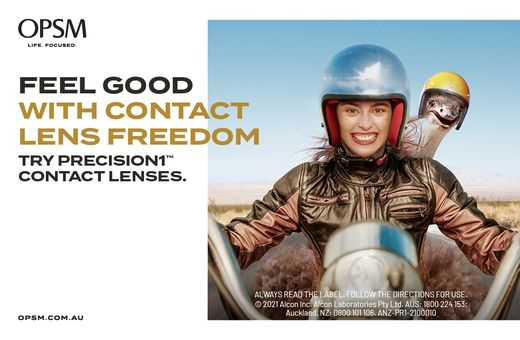 PRECISION1™ Contact Lenses at OPSM