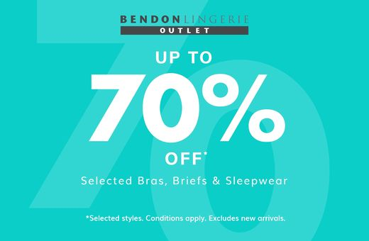 Bendon Outlet's Up To 70% Off Sale