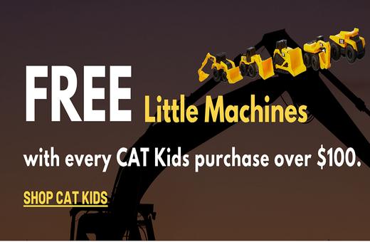 Shop CAT Kids now