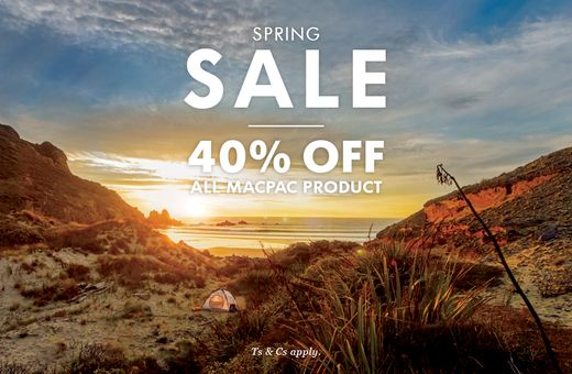 Macpac's Spring Sale is on now!