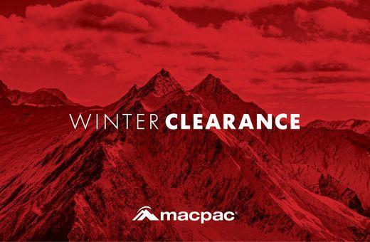 Macpac Winter Clearance