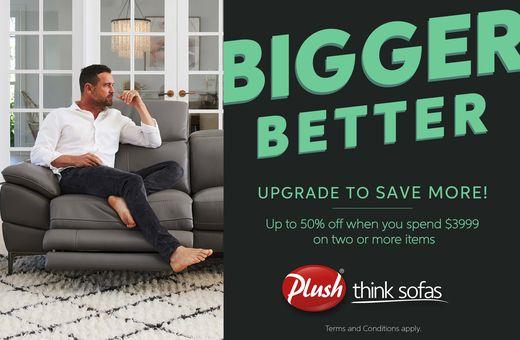 Plush's Bigger Better Sale