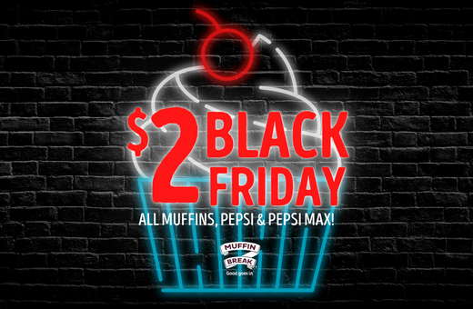 The Best Black Friday Deal At Muffin Break