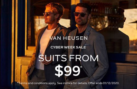 Cyber Week Sale At Van Heusen