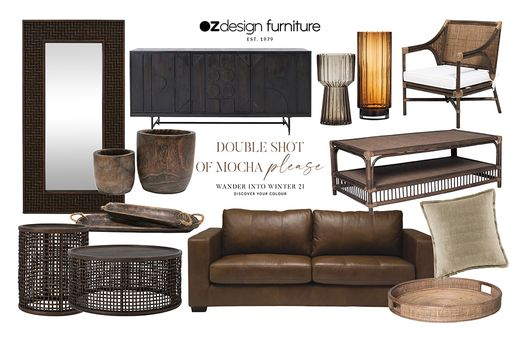 Wander Into Winter 21 With Oz Design Furniture