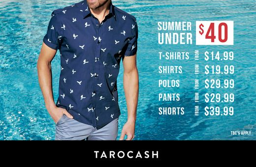 Tarocash's Summer Styles Under $40