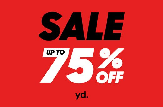 yd's Up To 75% Off Sale