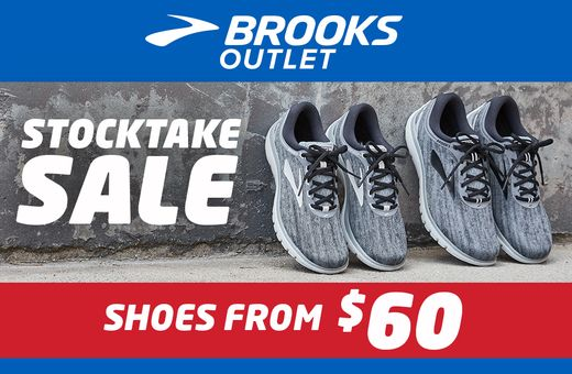Stocktake Sale on now at Brooks!