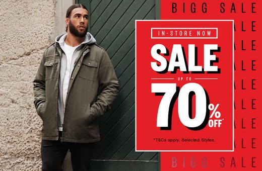Johnny Bigg's Sale