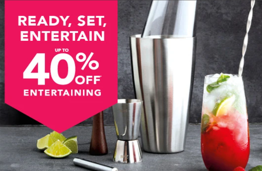 40% off entertaining at Matchbox!