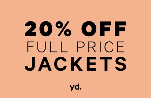 Jackets Sale at yd.