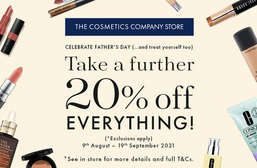 The Cosmetics Company Store Sale