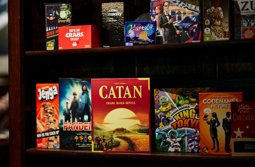 Free Board Game Hire at The Hall