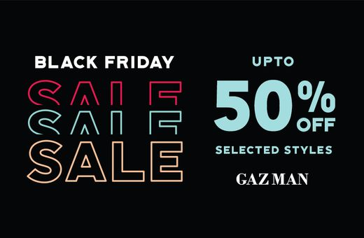 GAZMAN's Big Shopping Week Sale