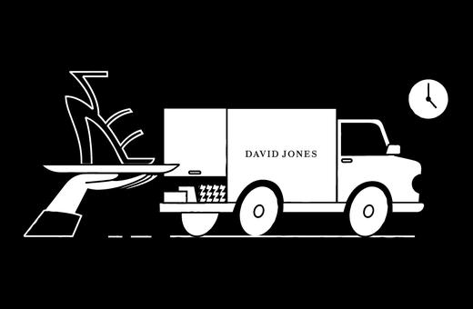 David Jones: Contactless Click & Collect