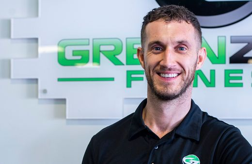 Meet Tony, proud club manager of Green Zone Fitness