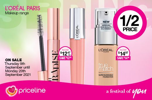 Priceline's September Catalogue Offers