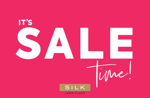 It's SALE Time at SILK Laser Clinics
