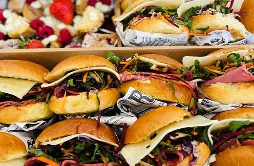 Catering for Events with Hustle Co Café!