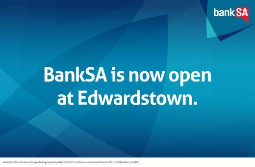 Bank SA Now Open