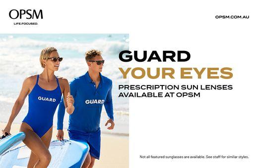 OPSM - Prescription Sun Lenses Offer