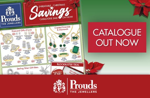 Prouds The Jewellers Unbeatable Christmas Savings Catalogue