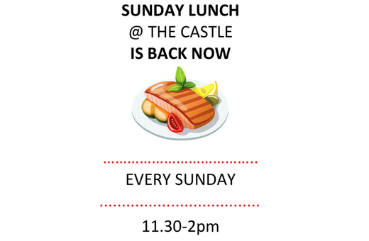 Sunday Lunch is back at The Castle Tavern