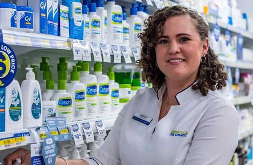 Meet Jess, proud owner of Blooms the Chemist