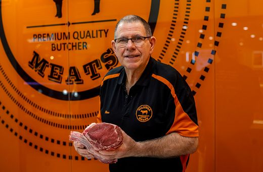 Meet Dave, proud owner of Dianella Meats