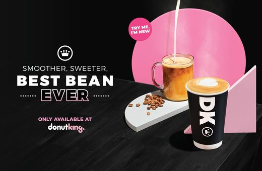 Donut King's NEW Premium Coffee Blend