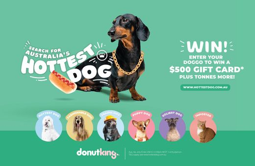 Donut King's Search for Australia's Hottest Dog